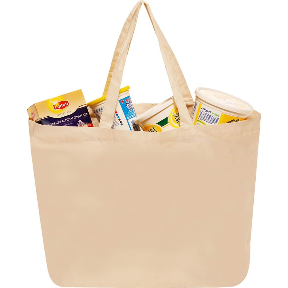 84211 5oz Cotton Canvas Shopping Tote - Kool Pak 7bd74e6ef8c2